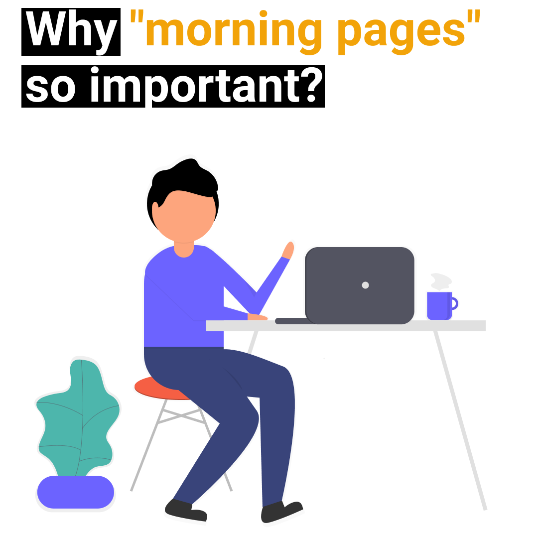 "Why ""morning pages"" so important?"