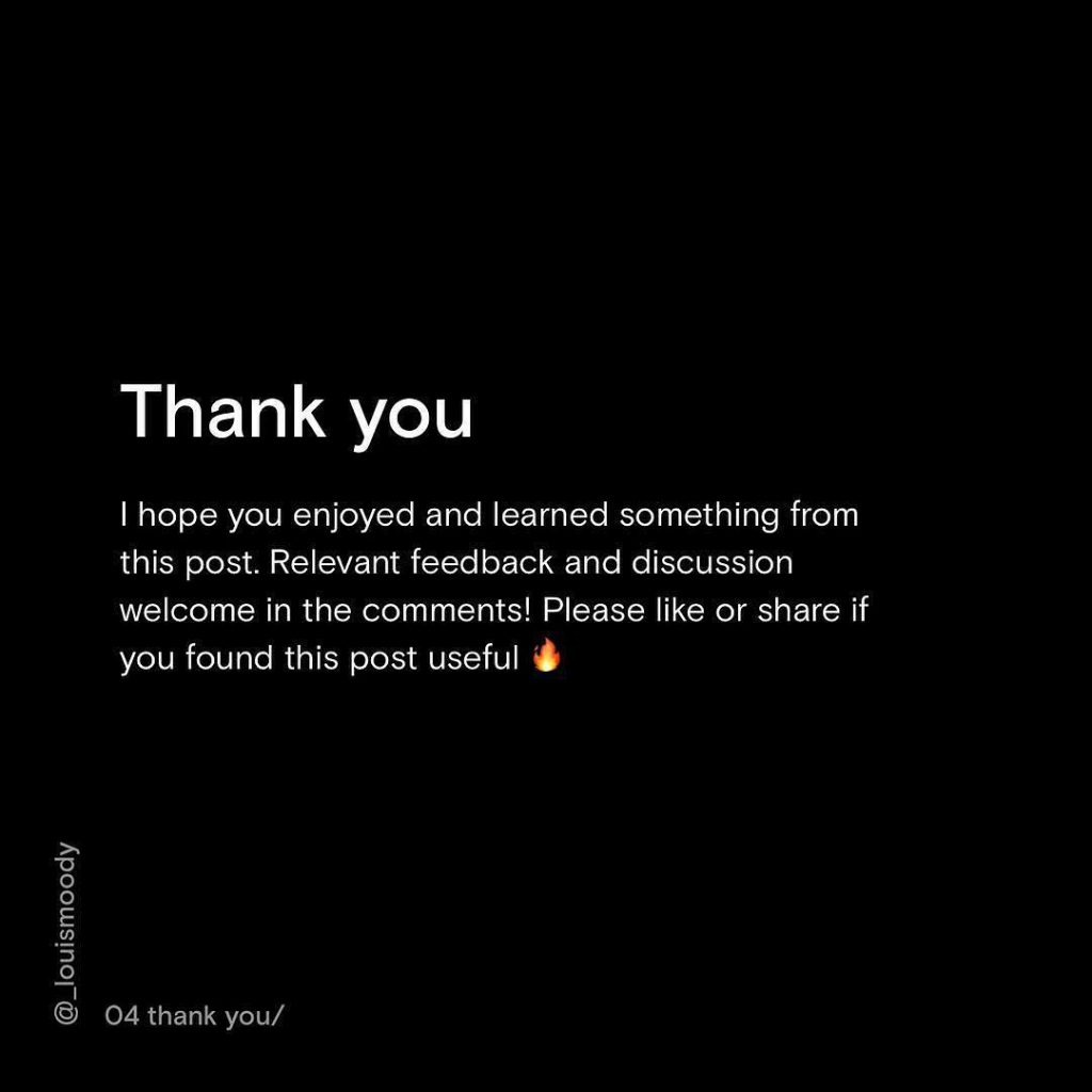 Thank you. I hope you enjoyed and learned something from this post. Relevant feedback and discussion welcome in the comments! Please like or share if you found this post useful.