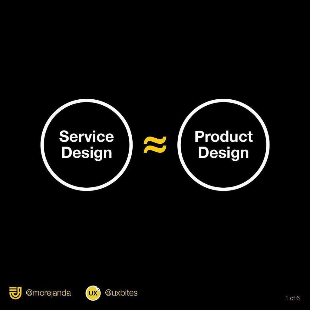 Product Design vs Service Design. What the difference?