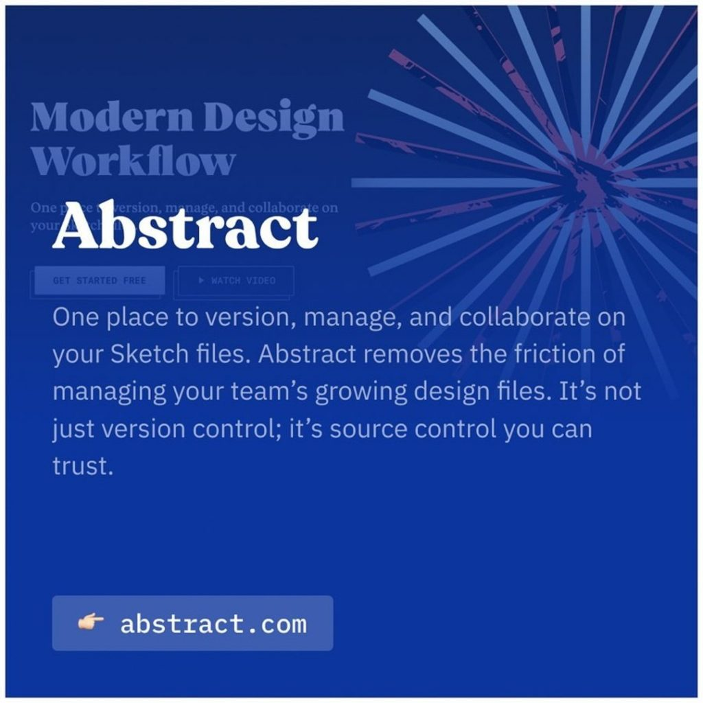 Abstract. One place to version, manage, and collaborate on Sketch files. Abstract removes the friction of managing your team's growing design files. It's not just version control; it's source control you can trust.