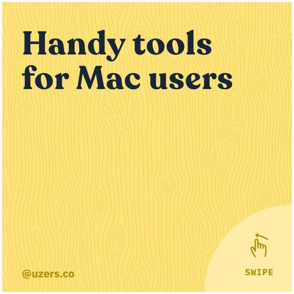 Handy tools for Mac users