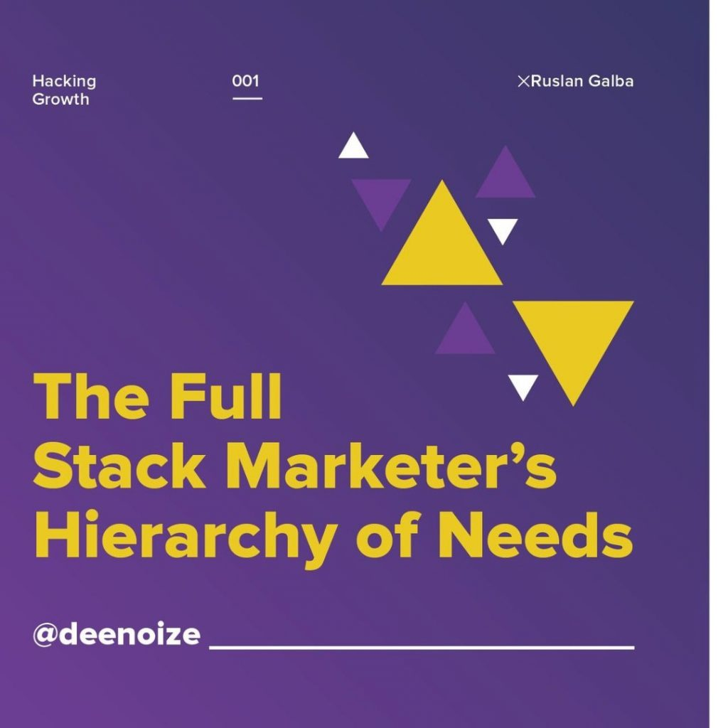 The Full-Stack Marketer's Hierarchy of Needs