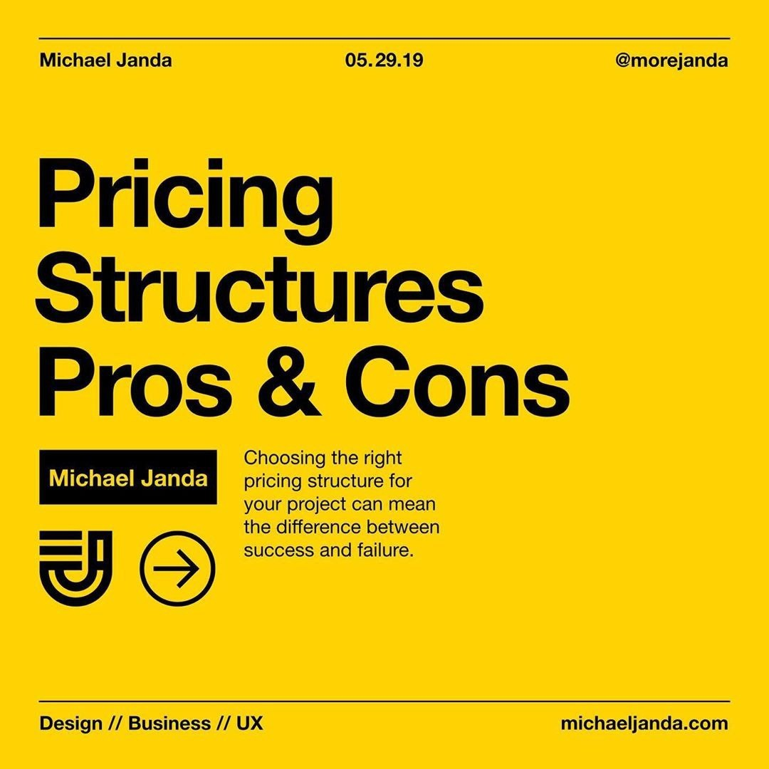 Pricing Structure Pros & Cons