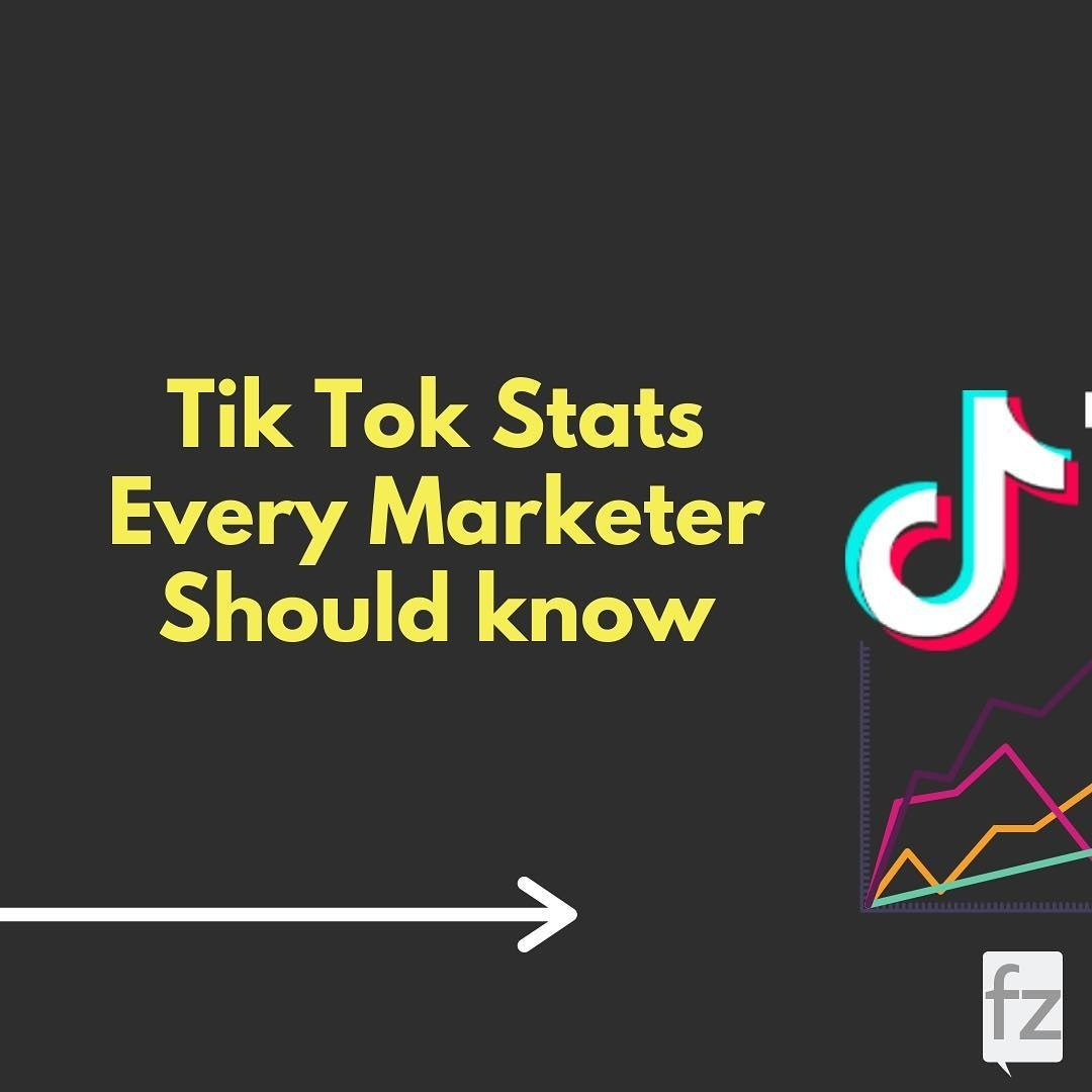 Tik Tok Stats Every Marketer Should know