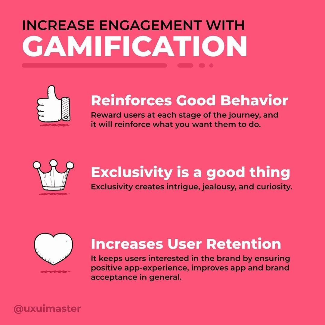 Increase engagement with Gamification