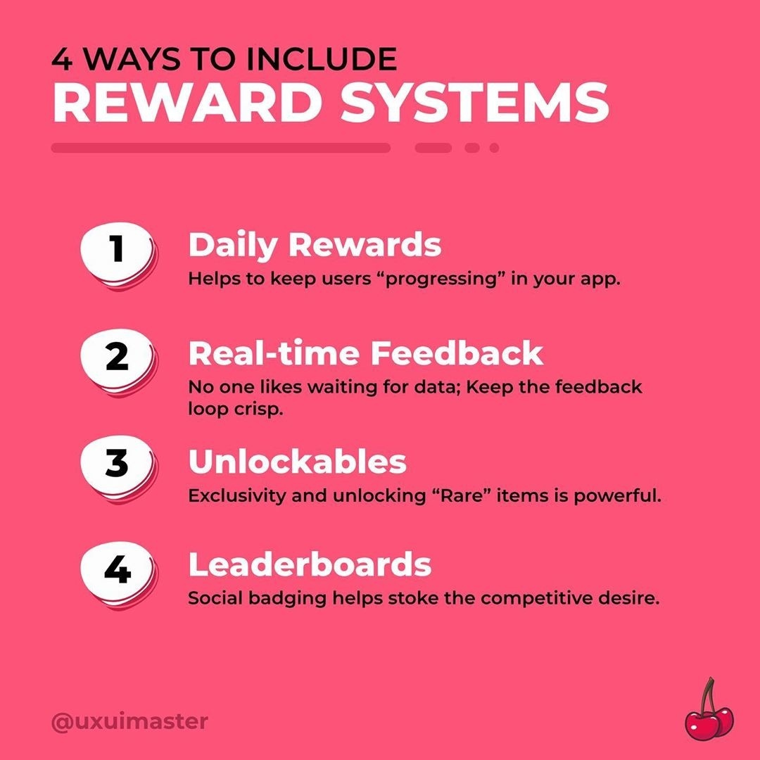 4 ways to include Reward Systems