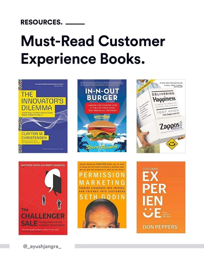 Must-Read Customer Experienced Books.