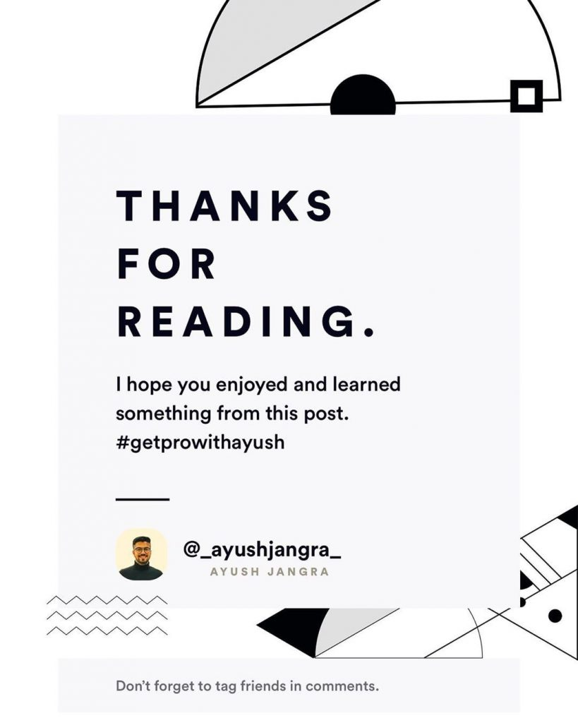 Thanks for Reading. I hope you enjoyed and learned something from this post.