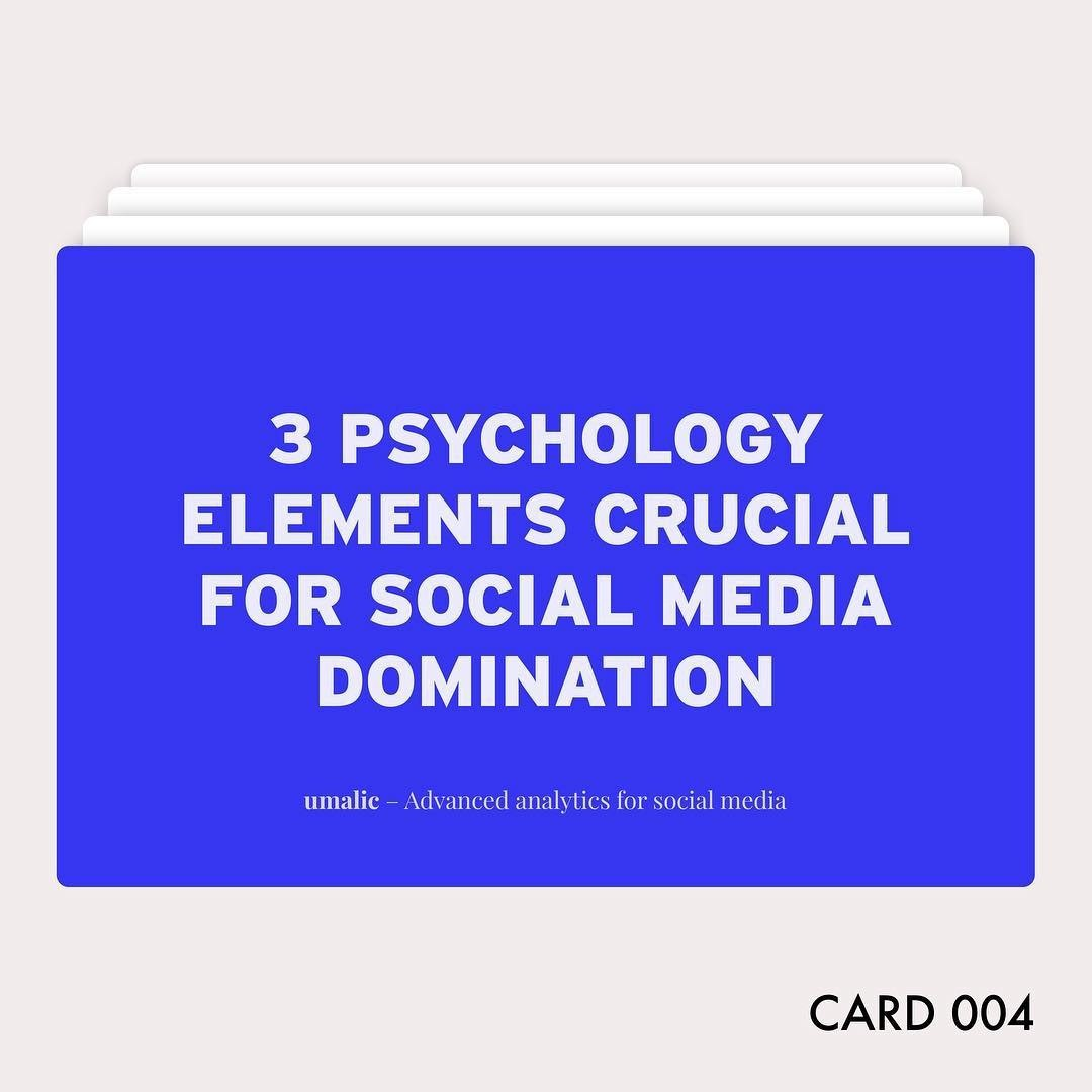 3 Psychology Elements Crucial For Social Media Domination