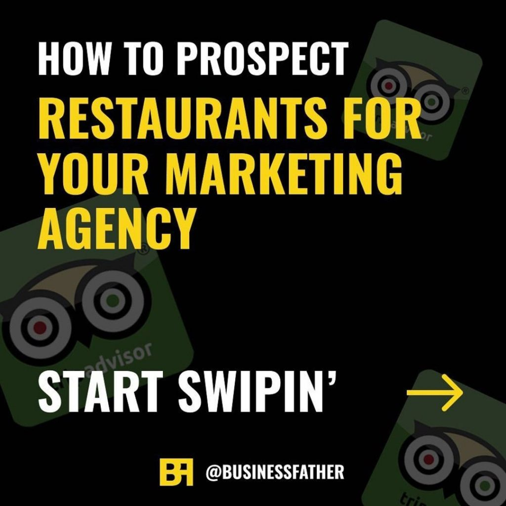 How to Prospect Restaurants For Your Marketing Agency