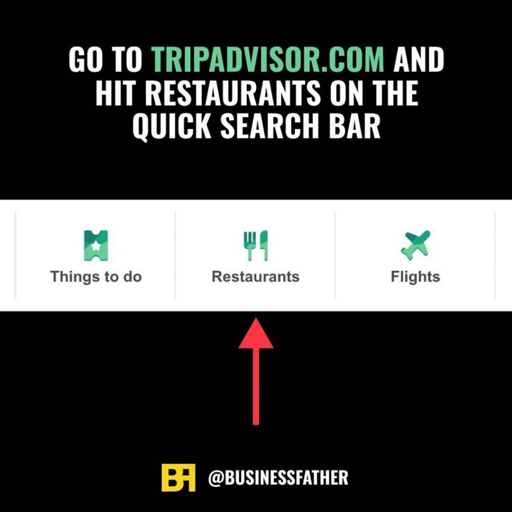 Go to tripadvisor.com and hit restaurants on the quick search bar