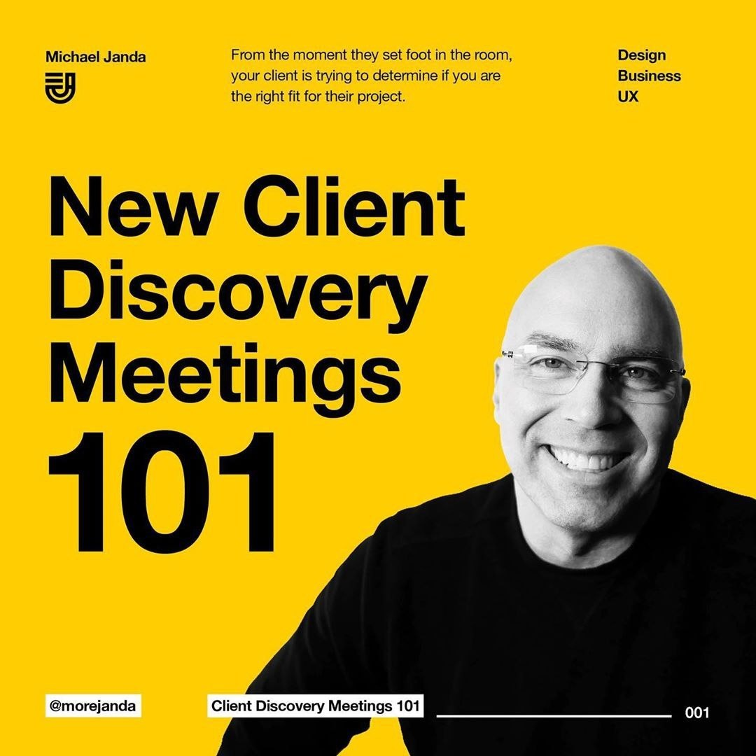 New Client Discovery Meetings 101