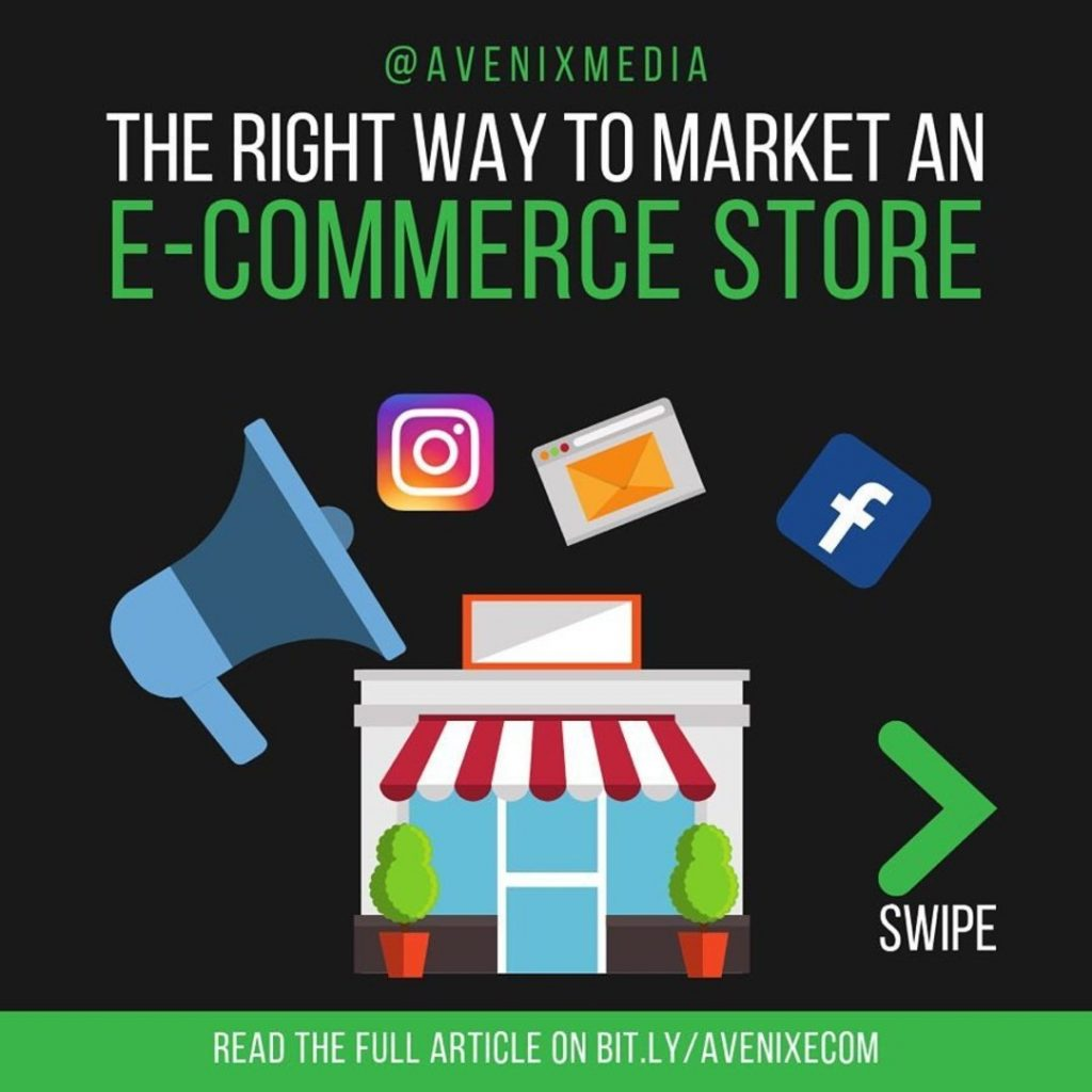 The right way to market an E-commerce store