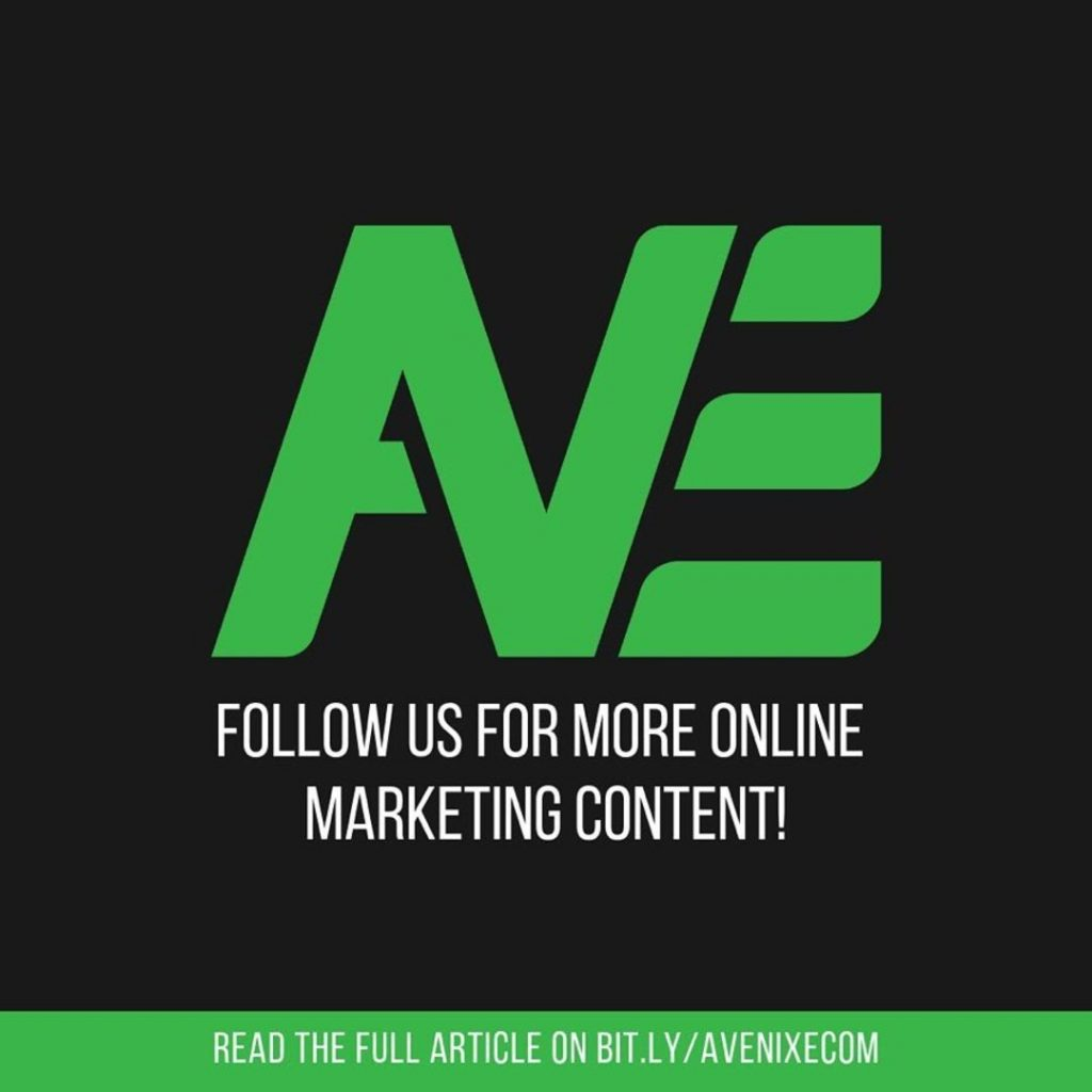 Follow us for more online marketing content!
