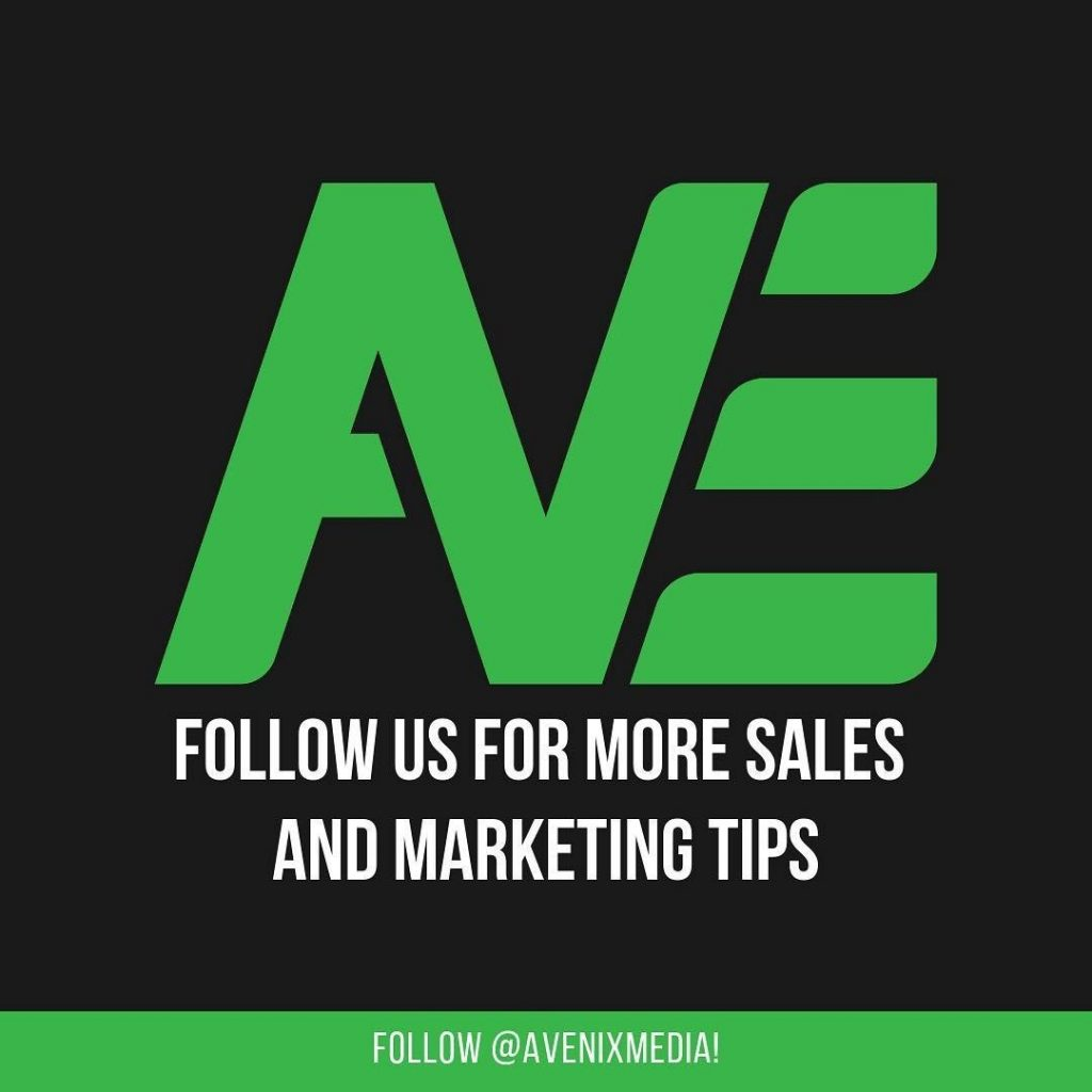 Follow us for more sales and marketing tips.