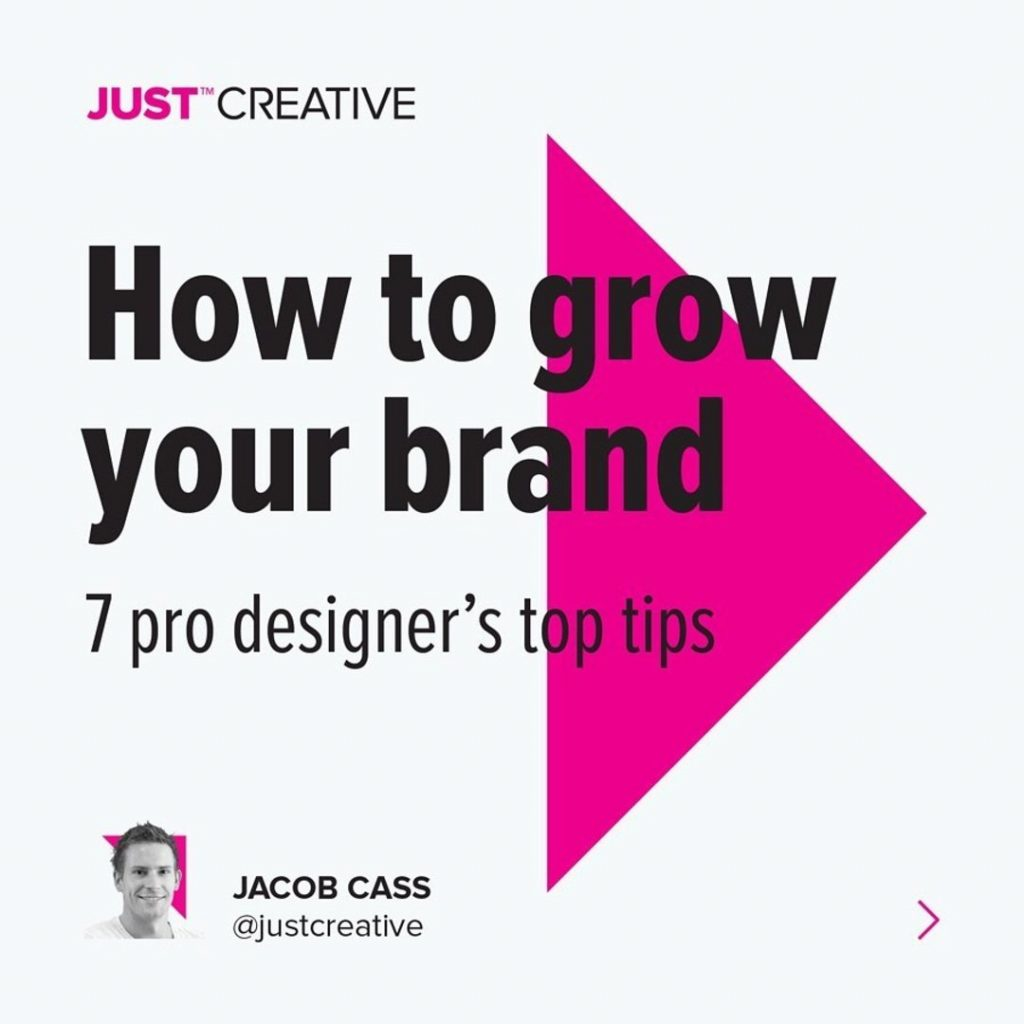 How to grow your brand  7 pro designer's top tips