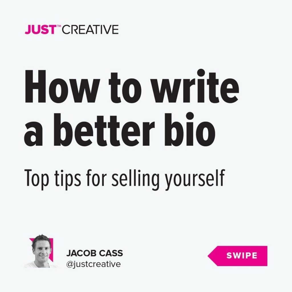 How to Write a Better Bio