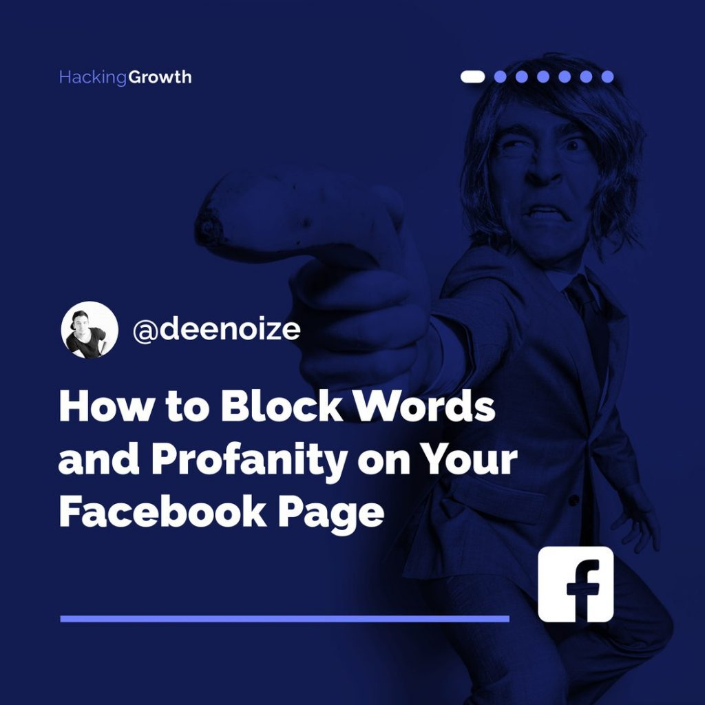 How to Block Words and Profanity on Your Facebook Page