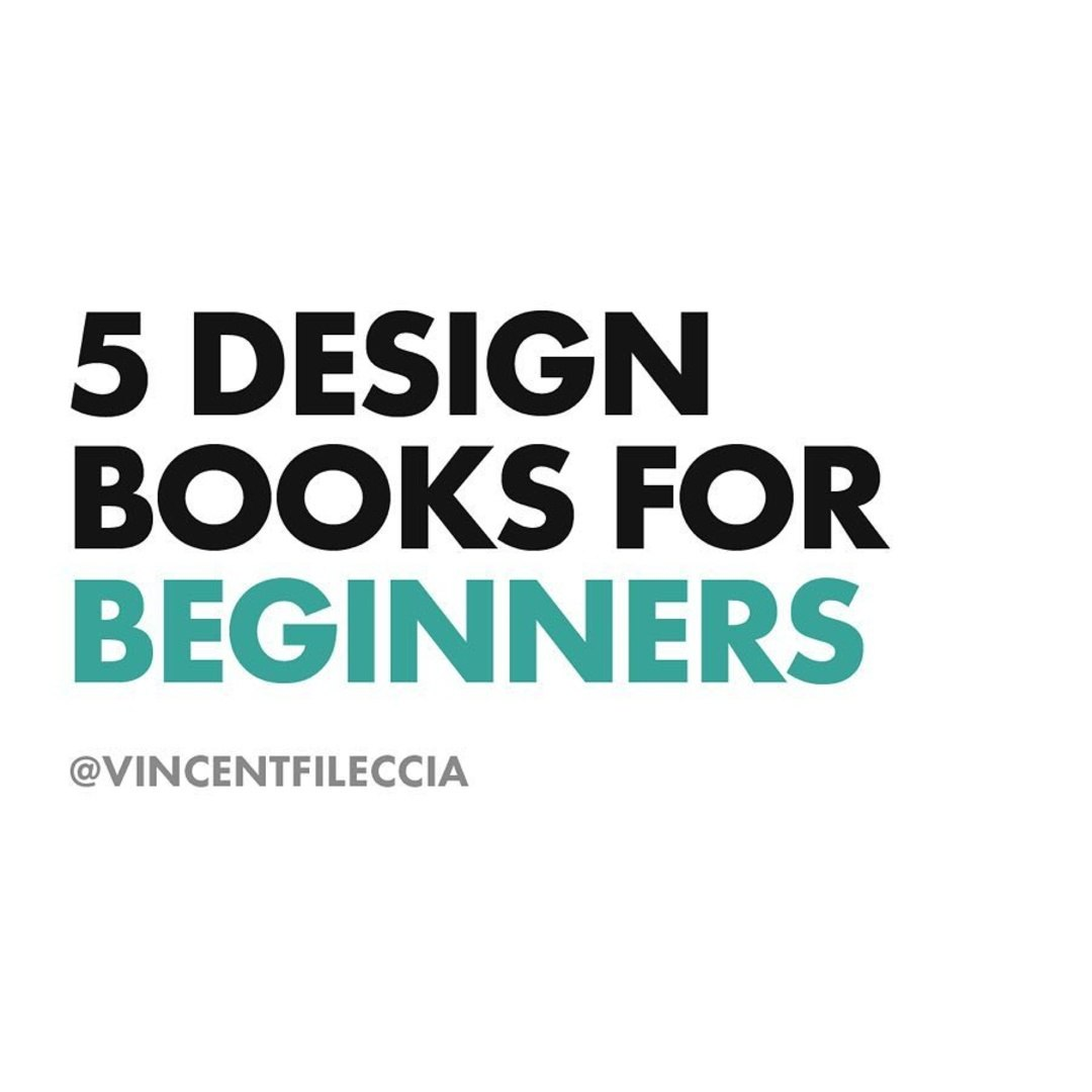 5 Design Books For Beginners