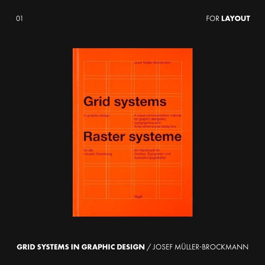 1. Grid Systems in Graphic Design by Josef Müller-Brockmann from @niggli_verlag
