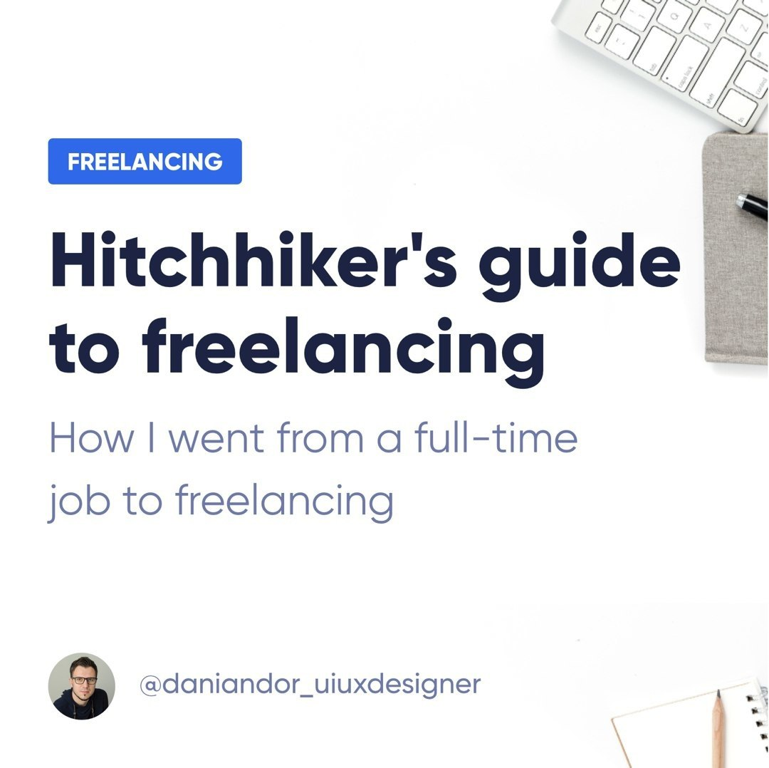Hitchhiker's guide to freelancing