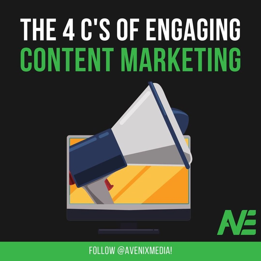 The 4 C's of Engaging Content Marketing