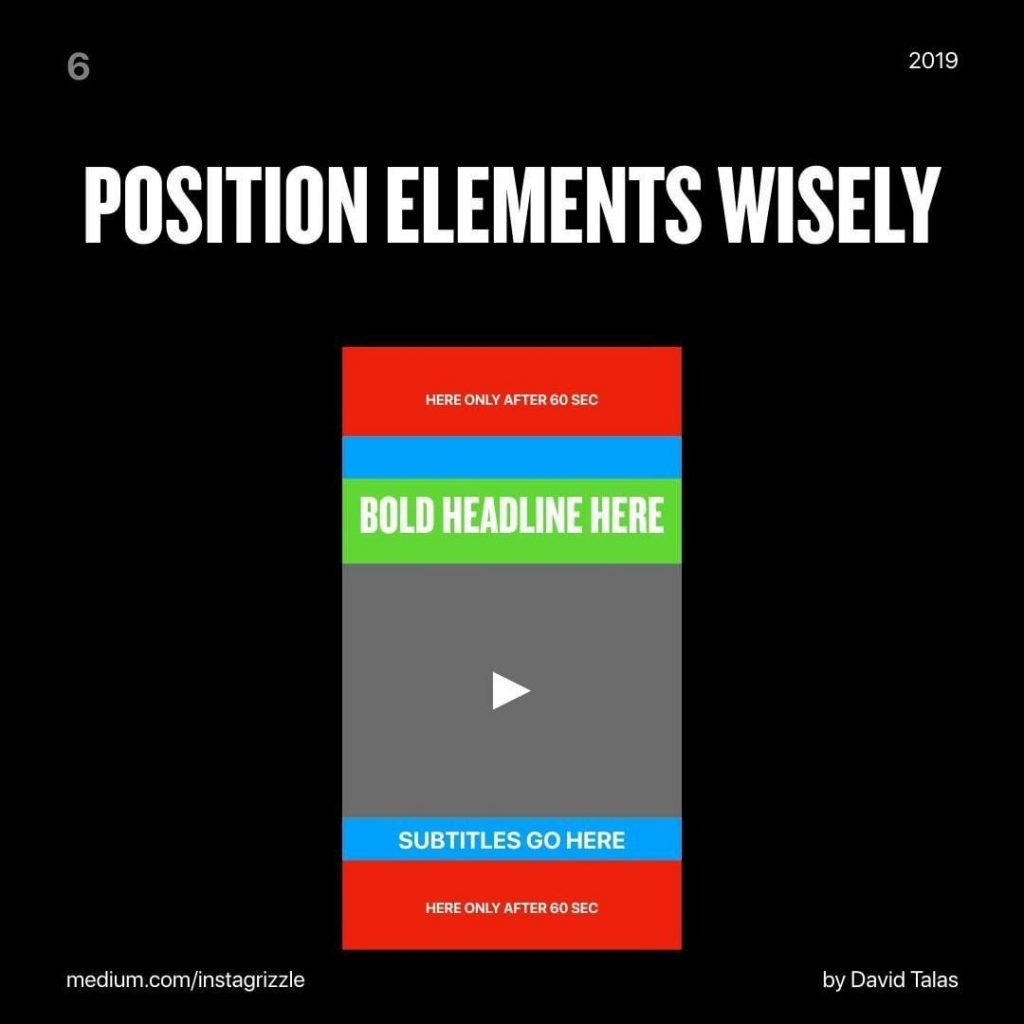 Position elements wisely
