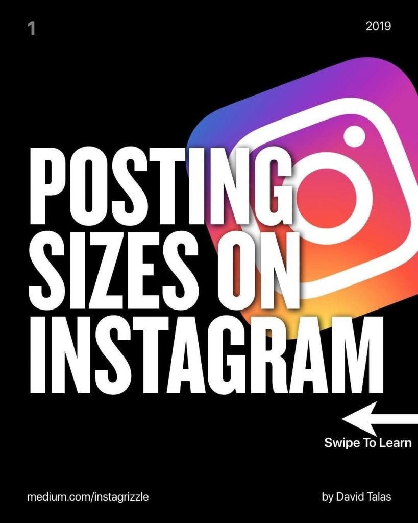 Posting Sizes On Instagram