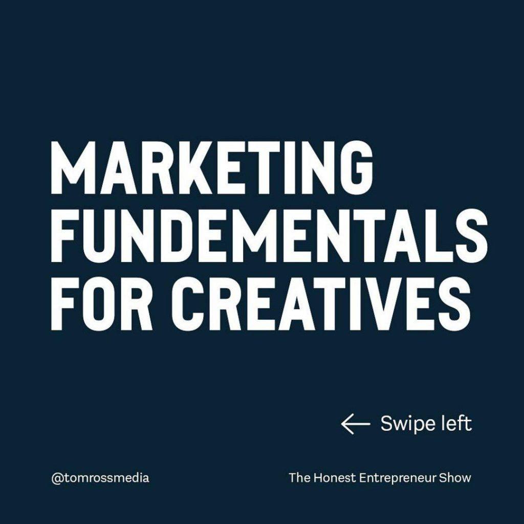 Marketing Fundamentals for Creatives