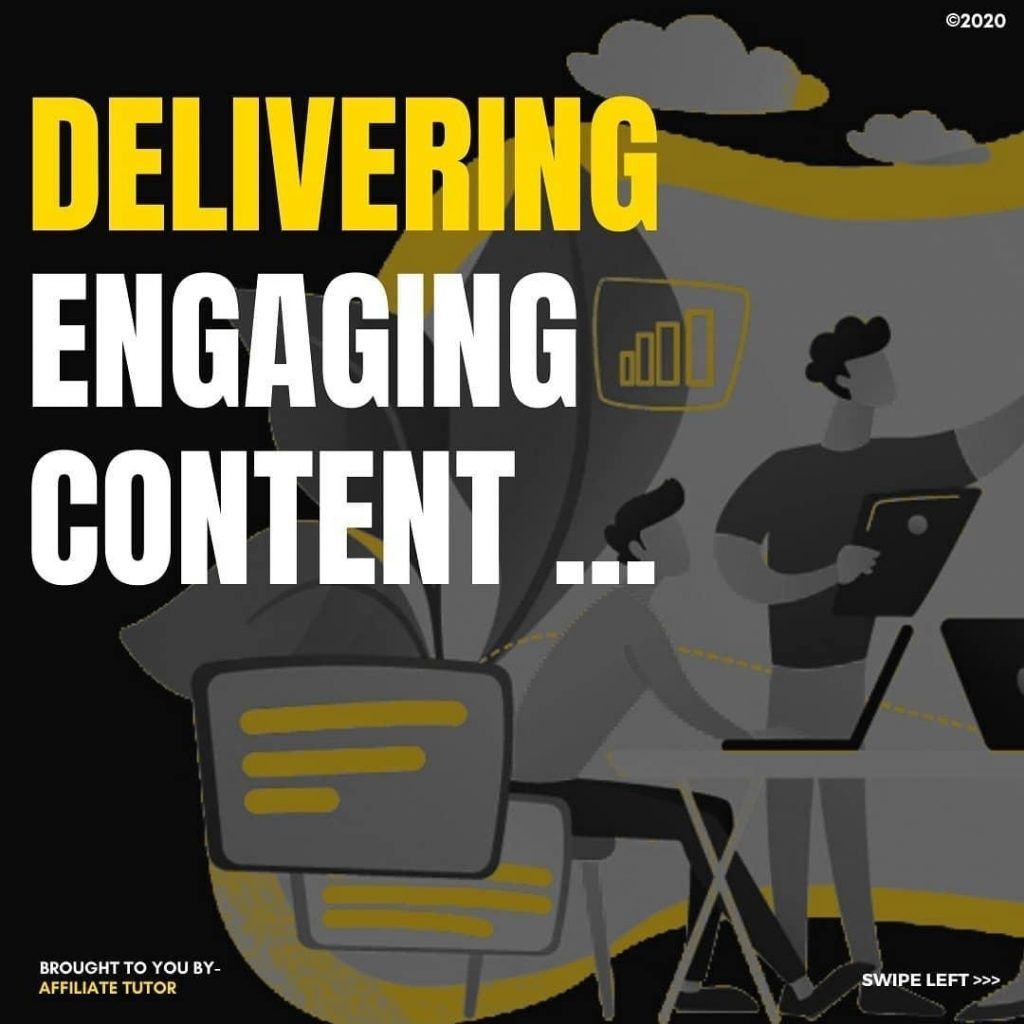 DELIVERING ENGAGING CONTENT...