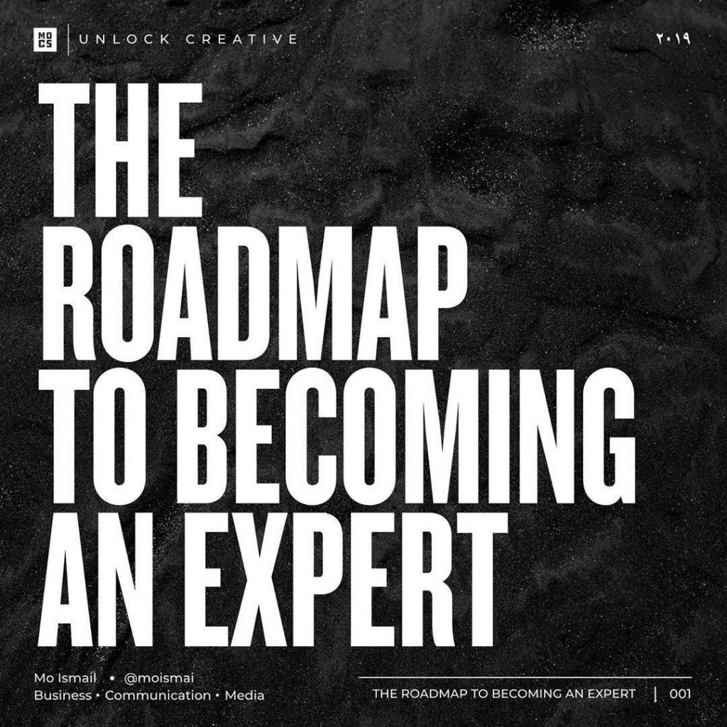 The Roadmap to Becoming an Expert
