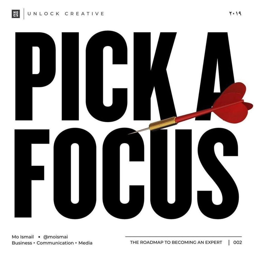 Pick a focus