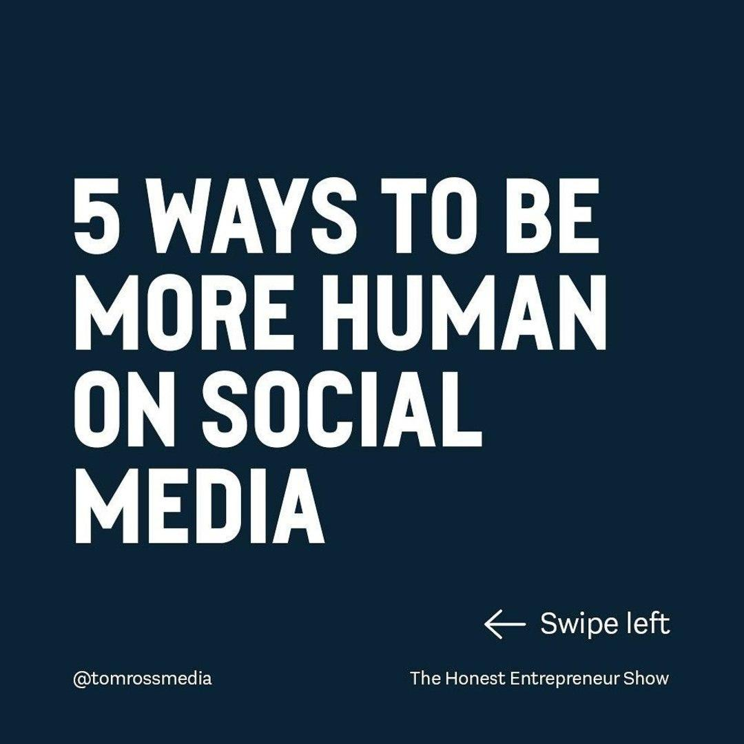 How human are you on social?