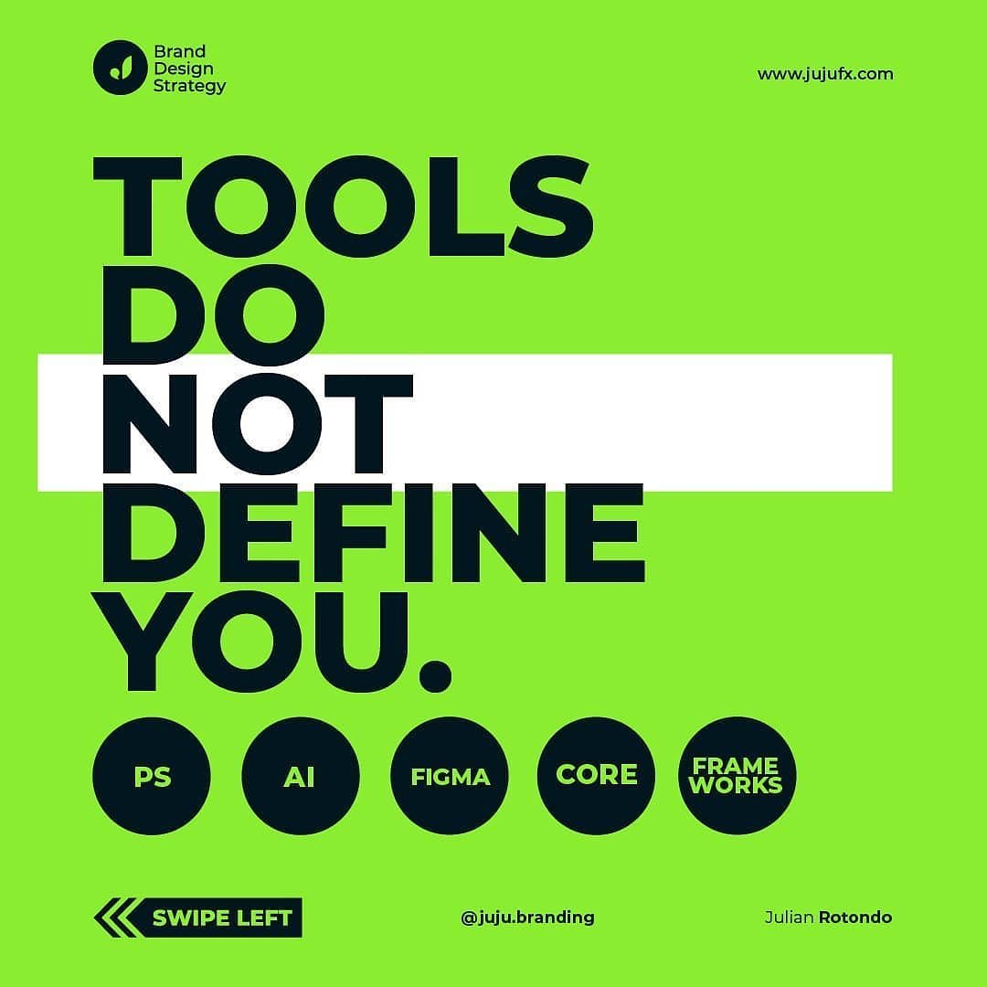 Tools Do Not Define You