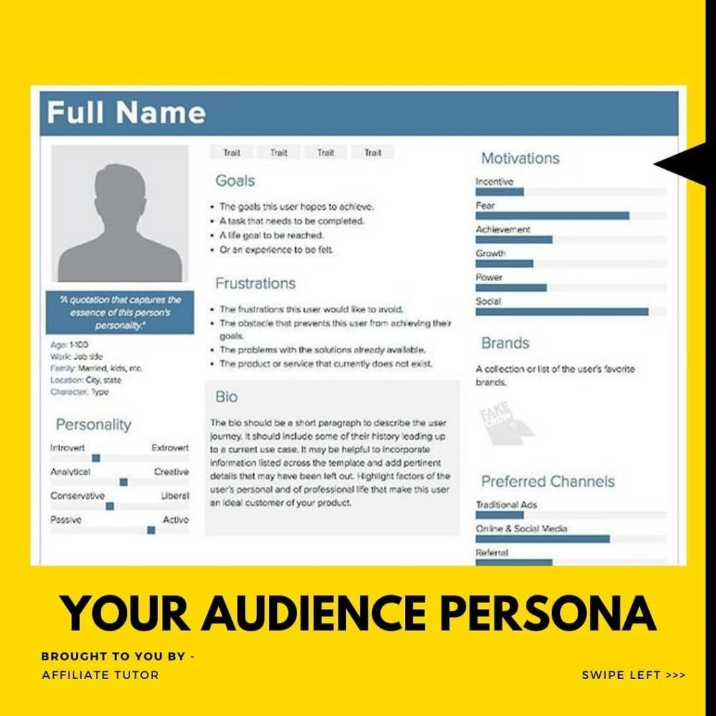 Your Audience Persona