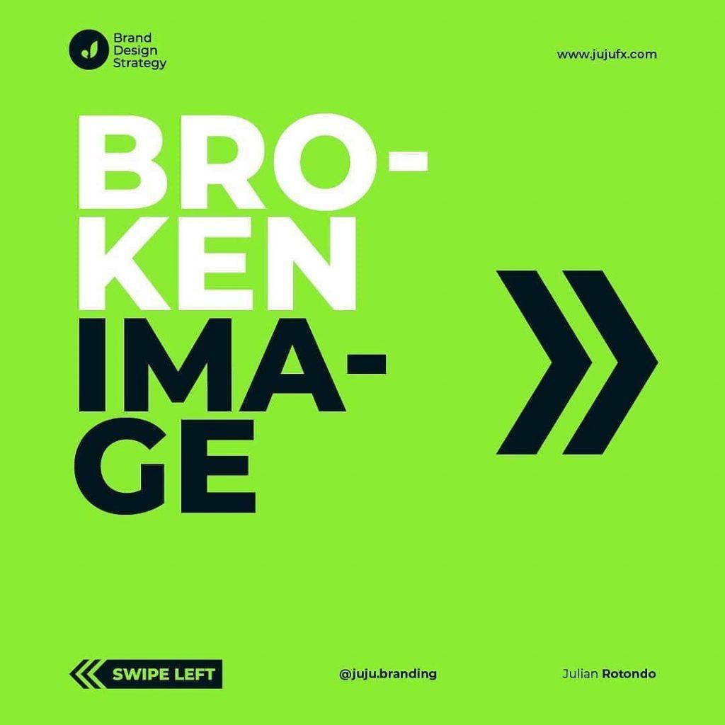 Broken image
