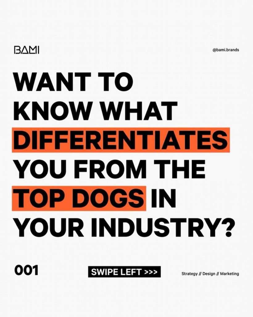 Want to know what differentiates you from the top dogs in your industry?