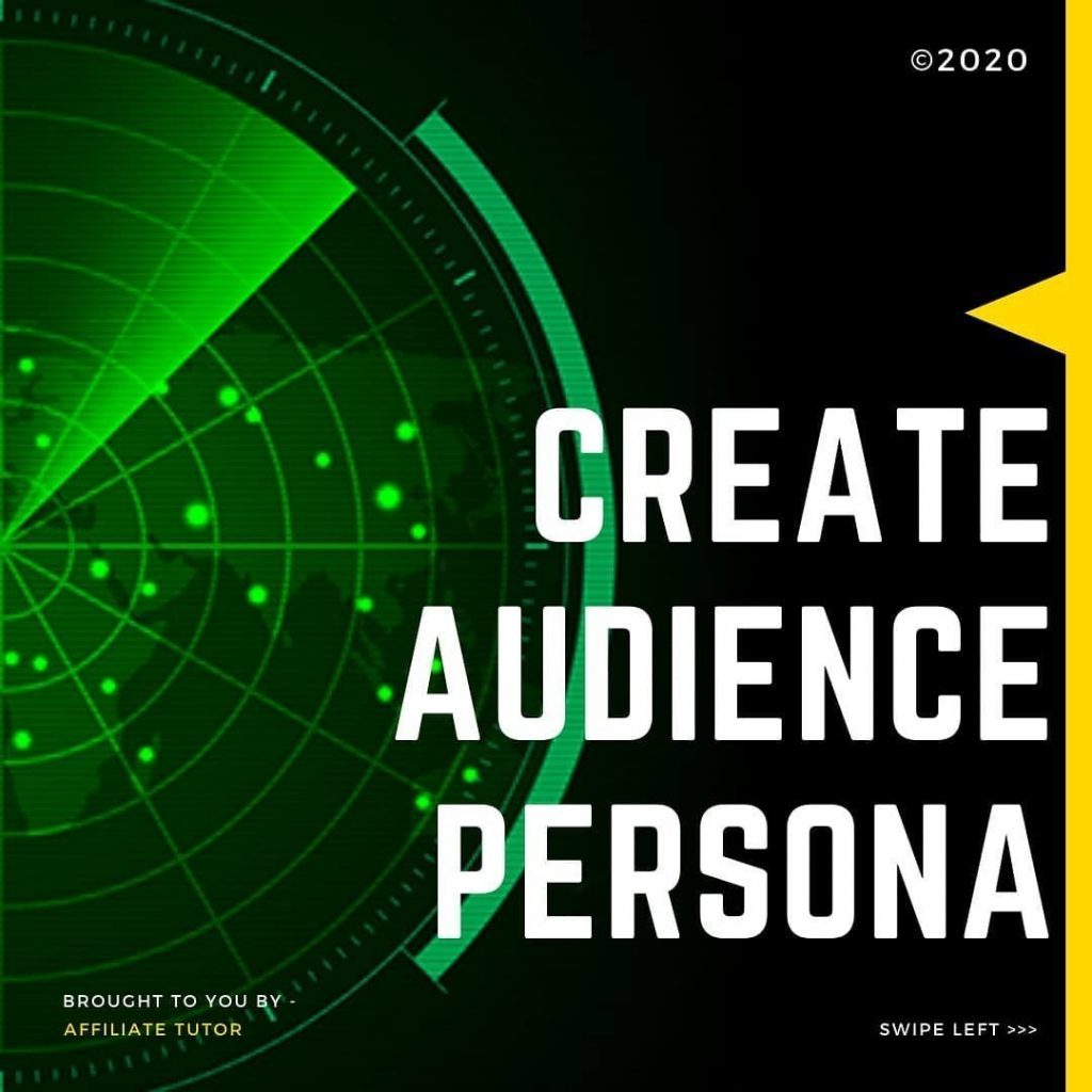 Create Audience Persona