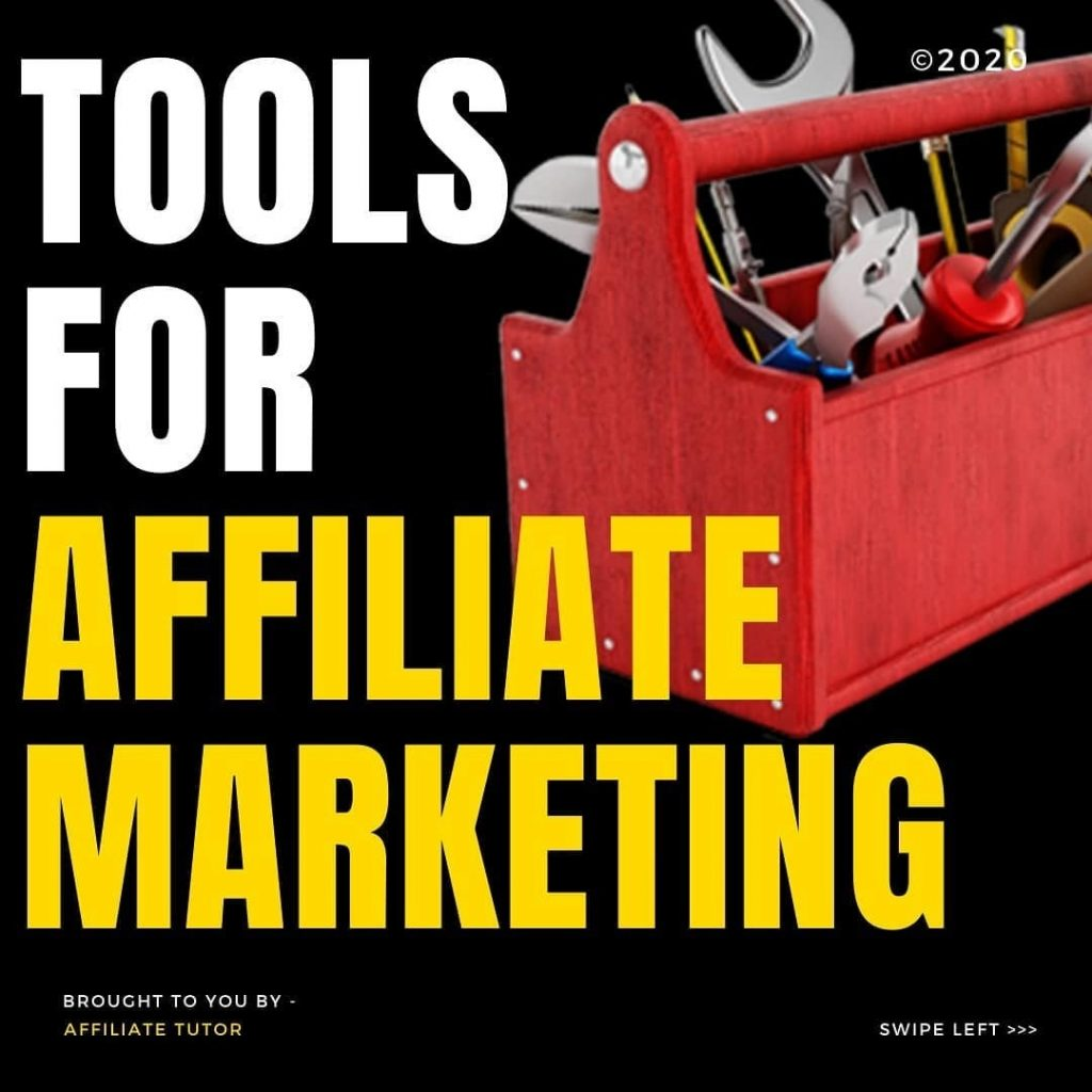 Tools for Affiliate Marketing