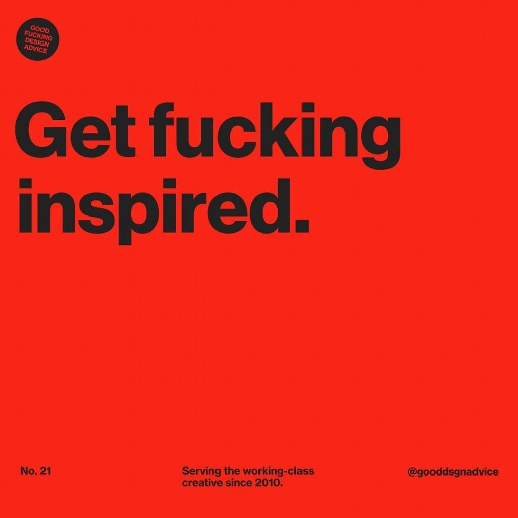 Get Fucking Inspired