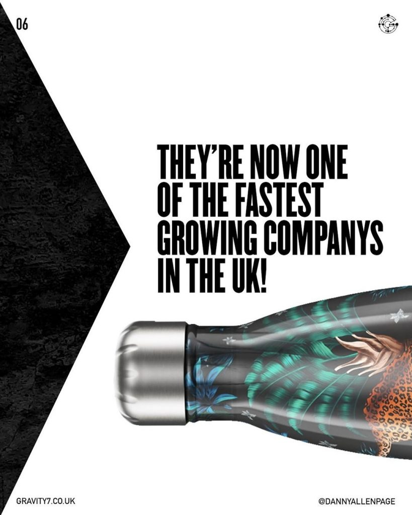 They're now one of the fastest growing companys in the UK!