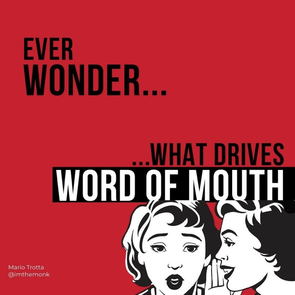 Ever Wonder...What Drives Word of Mouth