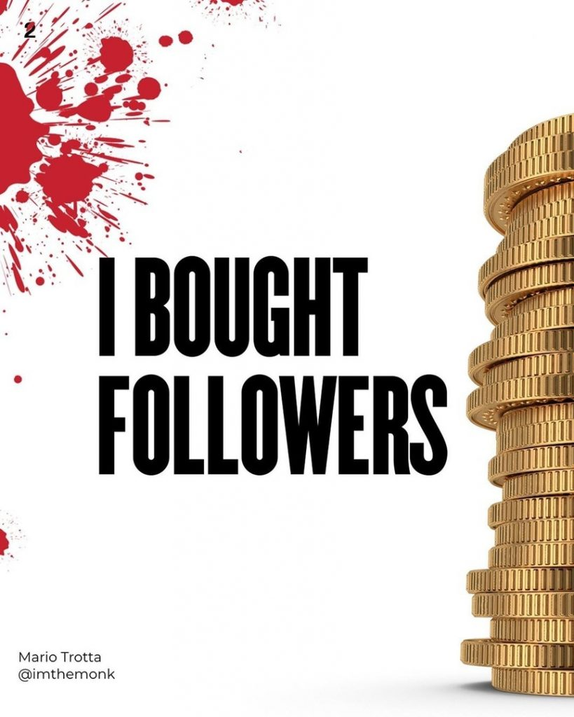 I Bought Followers