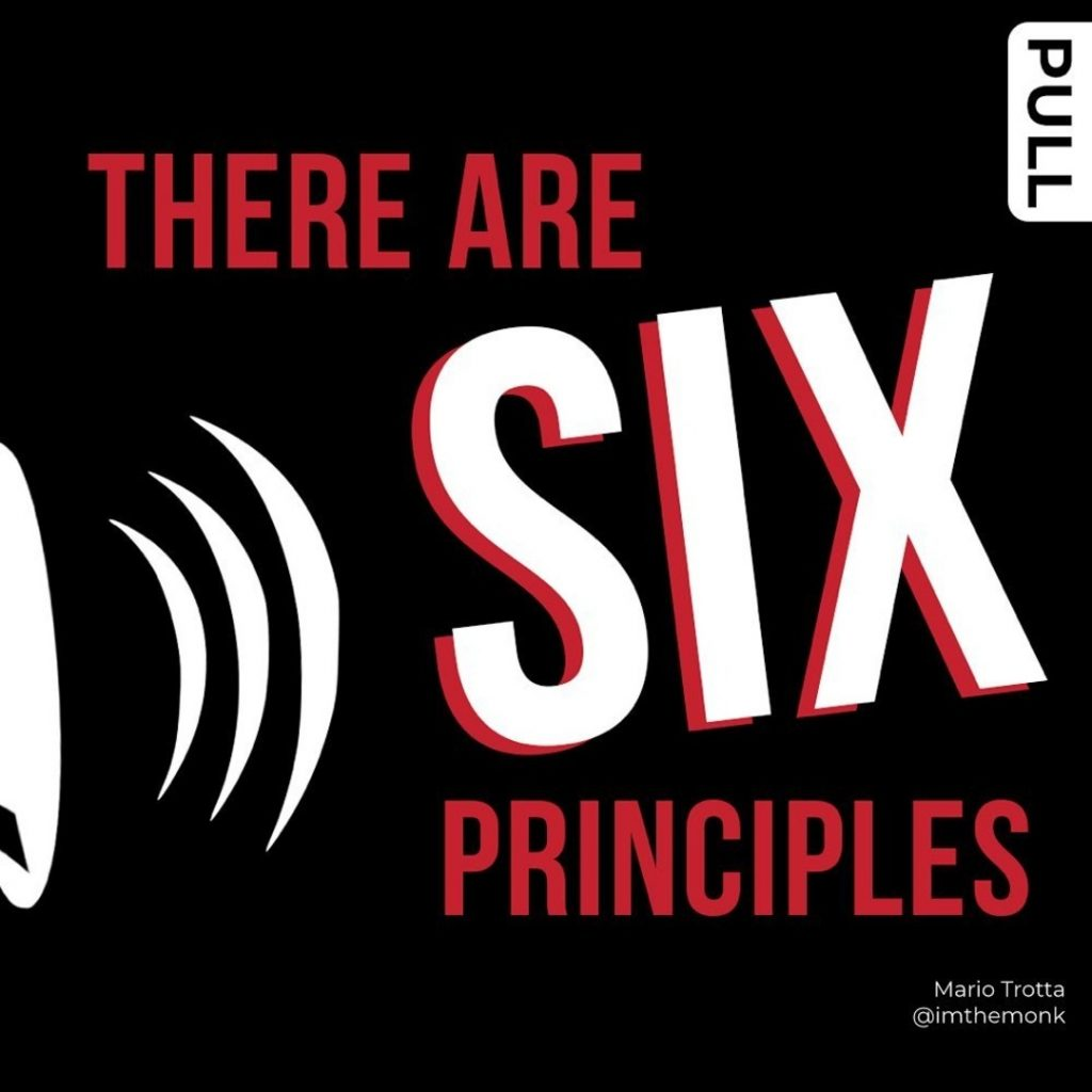There Are SIX Principles