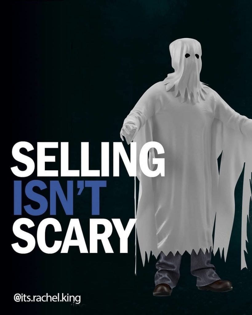 Selling Isn't Scary