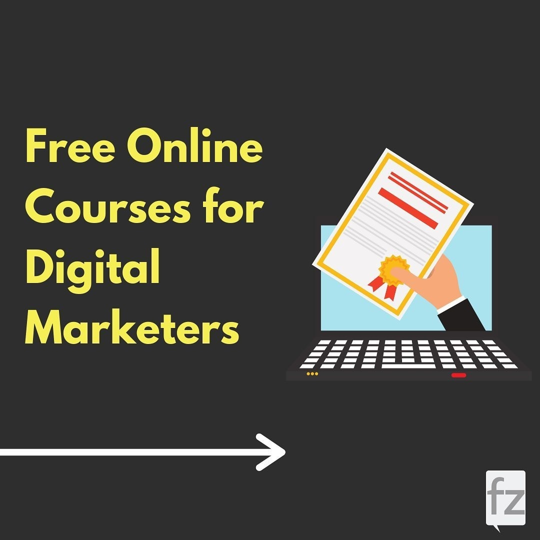 Free Online Courses for Digital Marketers