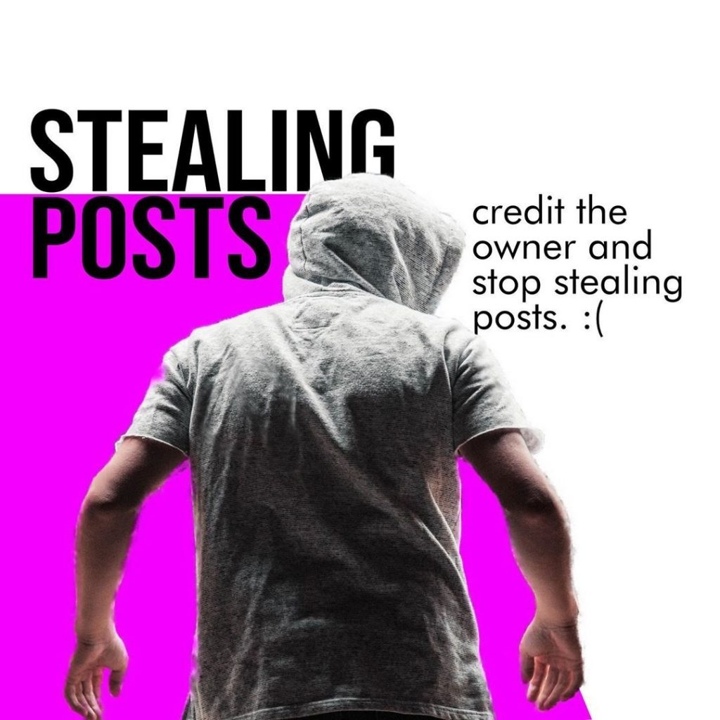 Stealing posts  Credit the owner and stop stealing posts. :(