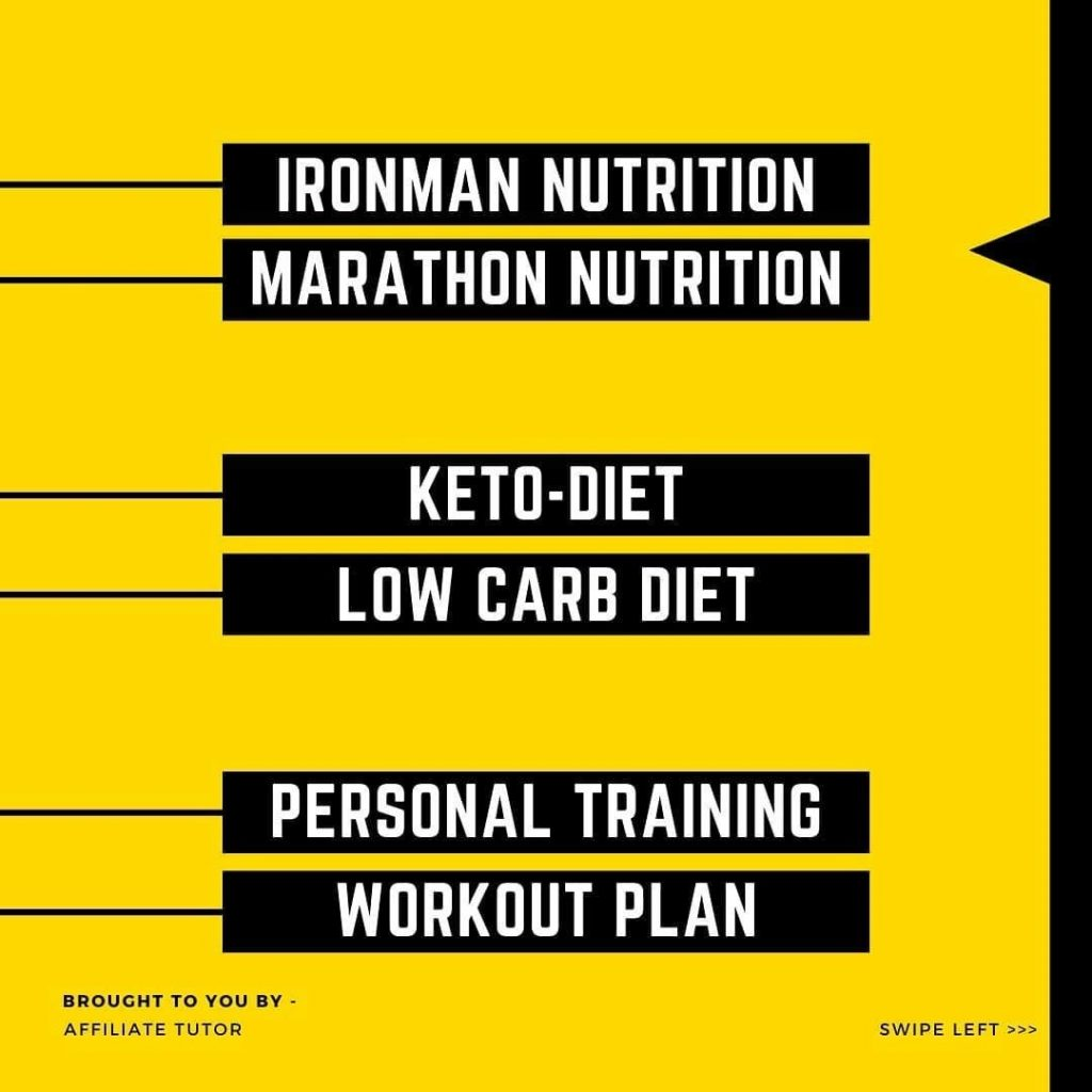 Ironman nutrition Marathon nutrition  Keto-diet Low carb diet  Personal training Workout plan