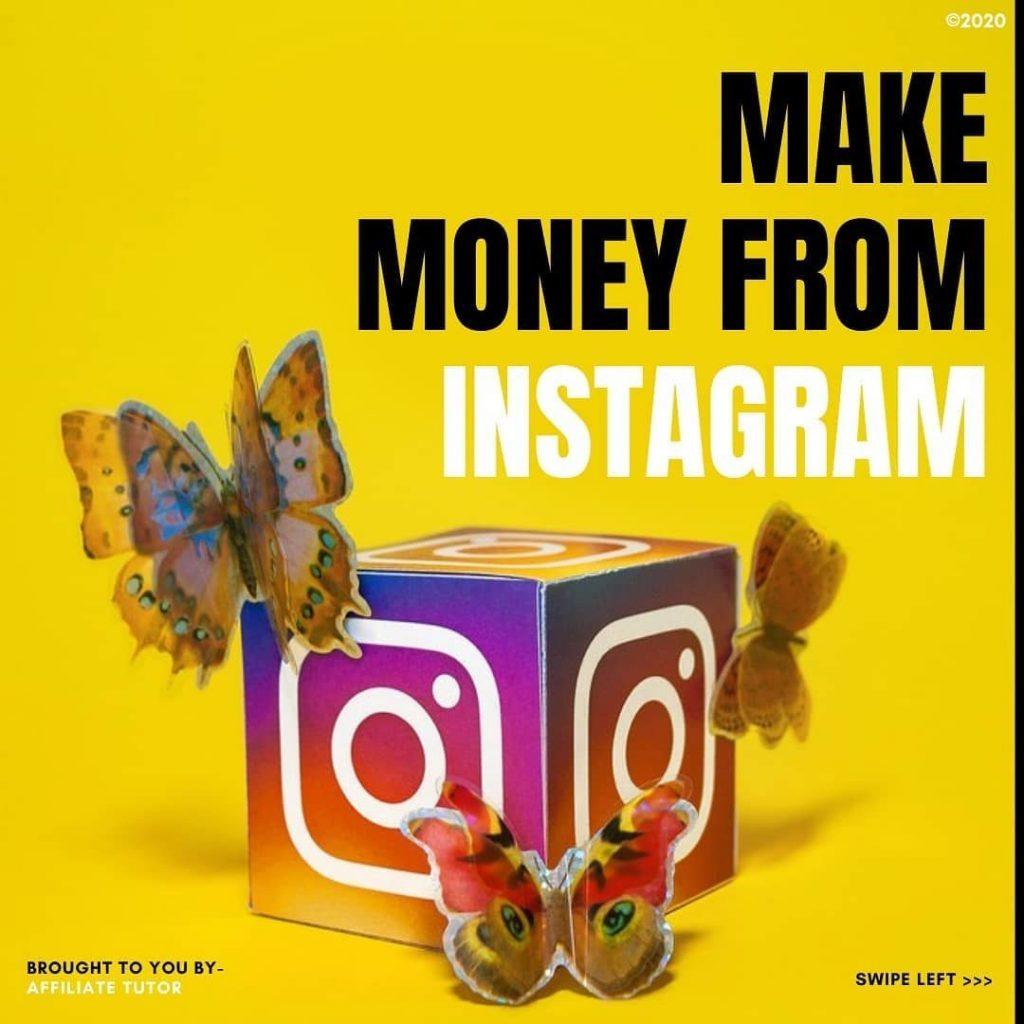 Make Money from Instagram