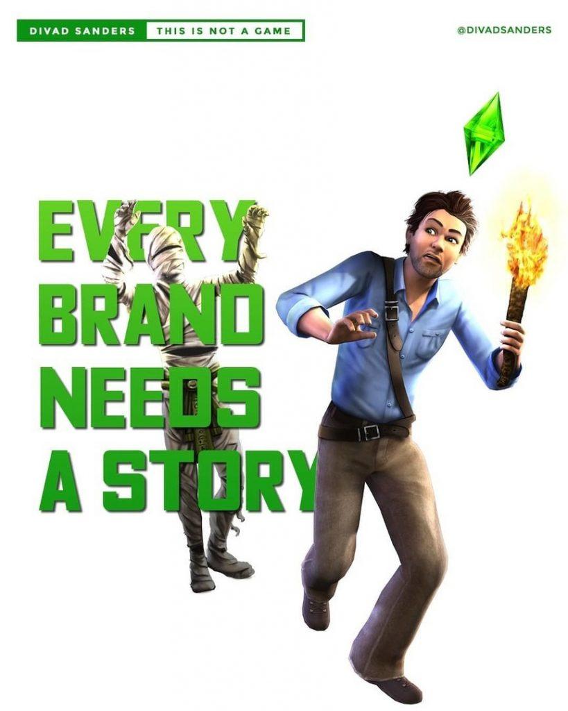 Every brand needs a story